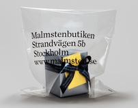 Malmstenbutiken Packaging