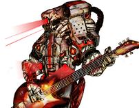 A Robot Band