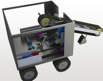 Earth rover - Computer aided design (CAD)
