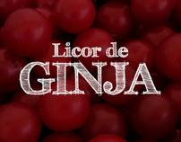 LICOR DE GINJA