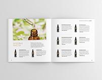Organic cosmetic catalog