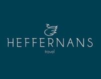Heffernans Travel Rebrand