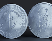 Turkish 3D Coin