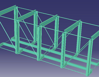 River Bridge - Finite element analysis