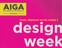 AIGA Design Week Posters