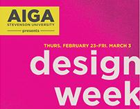 AIGA Design Week Posters