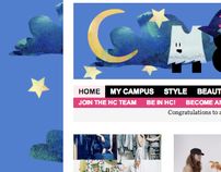 HerCampus.com Banners and Backgrounds