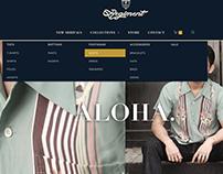 Regiment Menswear - Web Design and Development