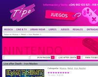 Tiendas Tipo - Website