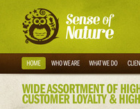 Sense of Nature Website