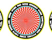 Bassline stickers