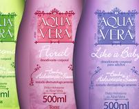 Linha AquaVera Hidratante e Desodorante TOPZ - EMS