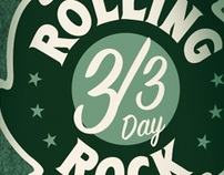 ROLLING ROCK 3/3 DAY