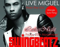 Swingbeatz Ladies Night with Miguel - LIVE ON STAGE -