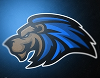 BLUE LION eSports / Sports Mascot Logo ( UP FOR GRAB! )
