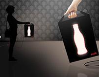 Coca-cola - Paper Light Box   Giveaway