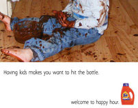 "Tide's ""Welcome to Happy Hour"" Campaign"