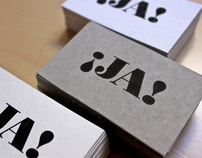 ¡JA! serigraphy vist cards