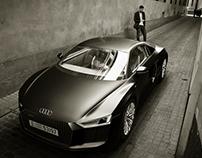 Audi R8 2016 - B&W