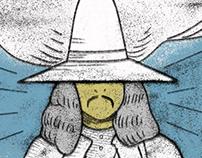 Alejandro Jodorowsky's movie posters as tarot cards