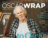 OscarWrap Magazine The Race Begins