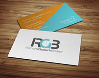 RGB Logo and Business Card Design by DK Design