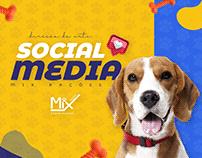 Mix Rações - Social Media