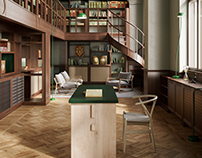 Old Library in Stockholm