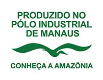 Logo - Produzido no Polo Industrial de Manaus