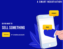 Negotiate With Deals | Landing Page UI