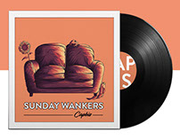 Sunday Wankers EP Album Cover