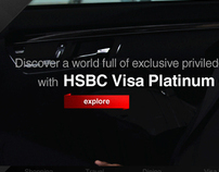HSBC Platinum Credit Card (Personal work)