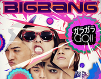 designing BIG BANG albums for Japanese debut