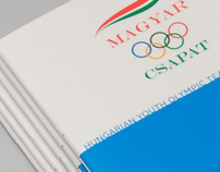 MOB Hungarian Youth Olympic Team booklet