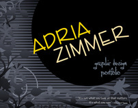 Adria Zimmer Graphic Design Portfolio