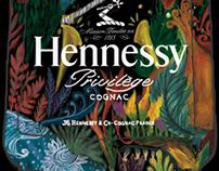 Peter Saville Hennessy V.S.O.P Inspired Artwork