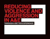 Reducing violence and aggression in A&E