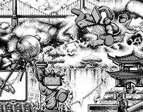 pixel art illustration