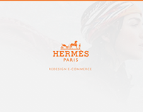 Hermès e-commerce redesign