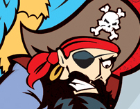 PIRATE'S GOLD TOY PACKAGING
