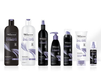 TRESemme Hair Care Package Design