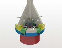 Prosthetic mitral valve delivery & anchoring tool