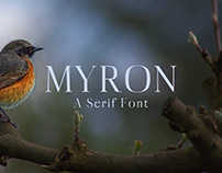 Myron - Free Serif Font