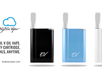 Essential V Oil Vape. Any cartridge, any oils, anytime.