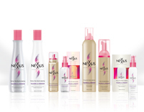 Nexxus Hair Care Package Design
