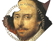 Gwinnett Classic Theatre logo design