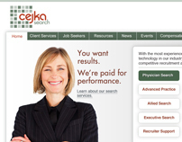 Cejka Search Corporate Website