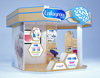 Mini stand Scholastic Mead Johnson