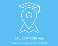 StuJob App - Exercise UX / UI project