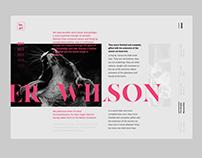 He.art, Website Design & Animation